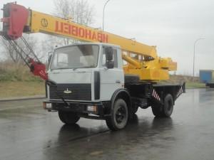 Аренда автокрана 14 тонн